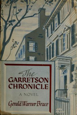 Cover of: The Garretson chronicle | Gerald Warner Brace