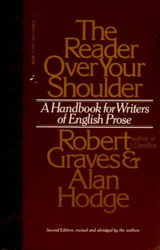 Cover of: The reader over your shoulder | Robert Graves